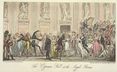 The Cyprian's Ball Art Print by British Library