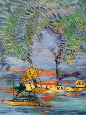 Painting - The Daily Mail by Jeff Seaberg