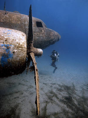 Underwater Photograph - The Dakota by Rico Besserdich