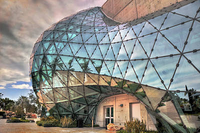 Painter Photograph - The Dali Museum St Petersburg by Mal Bray