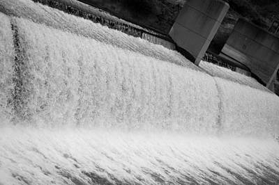 Photograph - The Dam Released by Holly Blunkall