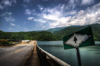 Photograph - The Dam Trail by Greg and Chrystal Mimbs