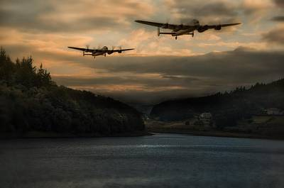 Canadian Heritage Photograph - The Dambusters by Jason Green