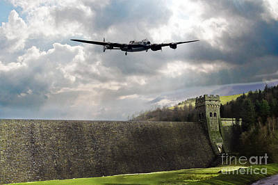 Valentines Day - The Dambusters over The Derwent by Airpower Art