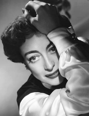 1950 Movies Photograph - The Damned Dont Cry, Joan Crawford, 1950 by Everett