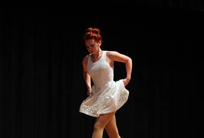 The Dance Art Print by Carolyn Ricks