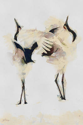 Art Print featuring the painting The Dance by Georgi Dimitrov