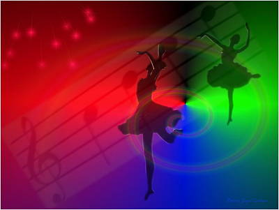 The Dance Print by Joyce Dickens