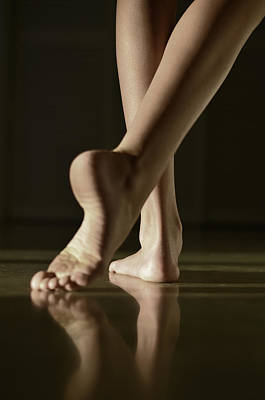 Bare Feet Photograph - The Dance by Laura Fasulo