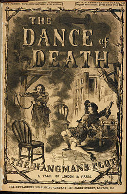 The Dance Of Death Art Print by British Library