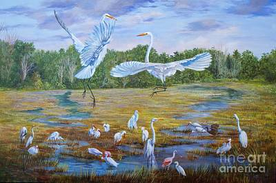 Painting - The Dance Of Life by AnnaJo Vahle