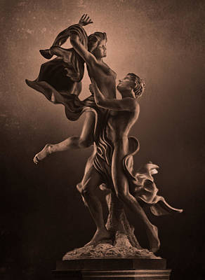 The Dance Of Love Art Print