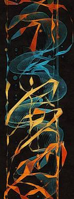 Digital Art - The Dance Of Time by Susan Maxwell Schmidt