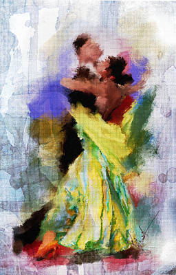 Ballroom Painting - The Dance by Robert Smith