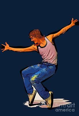 The Dancer 75 Art Print
