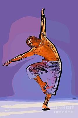 The Dancer 79 Art Print
