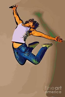 The Dancer 84 Art Print