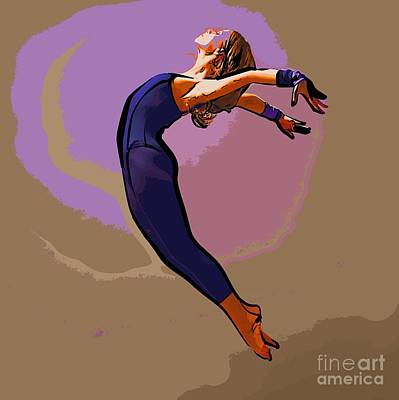 The Dancer 85 Art Print