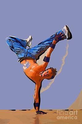 The Dancer 93 Art Print