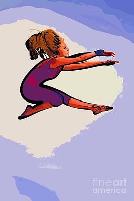 The Dancer 97 Art Print