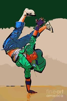 The Dancer 99 Art Print