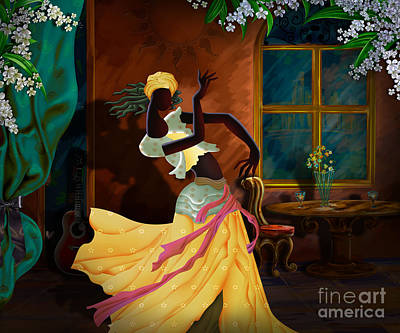 The Dancer Act 1 Print by Bedros Awak