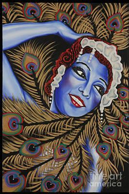 Painting - The Dancer Josephine Baker by Nannette Harris