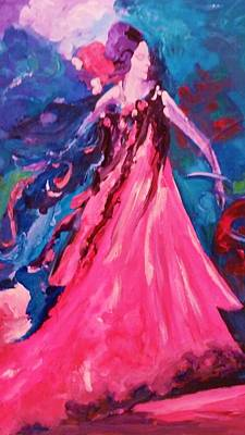 Painting - The Dancer by Ray Khalife