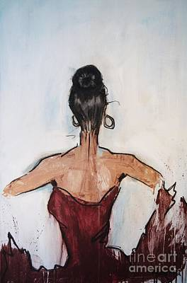 Ear Rings Painting - The Dancer by Vincent Avila