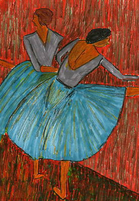 The Dancers Art Print by John Giardina