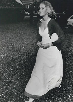 The Danes Believe Countess Desires Could Be The Bride For Art Print by Retro Images Archive