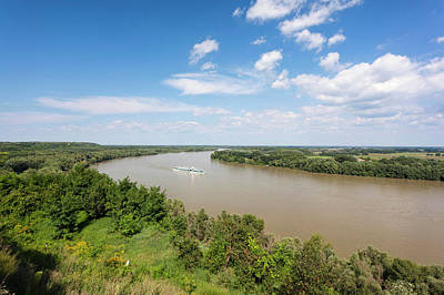 Danube Photograph - The Danube Near Dunaszekcsoe, View by Martin Zwick