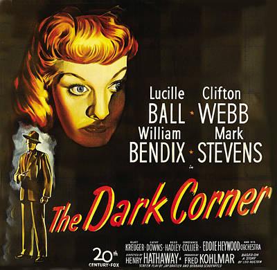 The Dark Corner Art Print