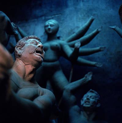 Goddess Durga Photograph - The Dark Dream by Shaun Higson