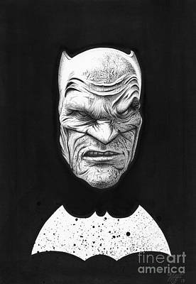 The Dark Knight Print by Wave