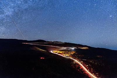 Photograph - The Dark Mountain by Jason Chu
