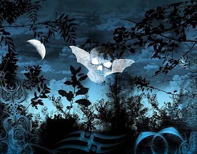 Digital Art - The Dark Of Night  by Michael Damiani