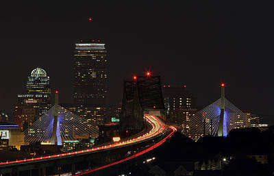 Travel Pics Royalty-Free and Rights-Managed Images - The Dark Side of Boston by Juergen Roth