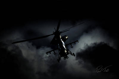 South African Air Force Photograph - The Dark Side by Paul Job