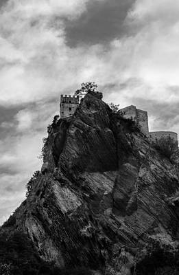 Photograph - The Dark Tower Of Abyss by Andrea Mazzocchetti