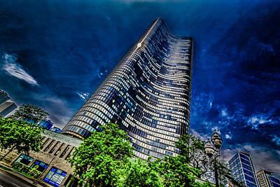 Photograph - The Dark Tower by Randy Scherkenbach