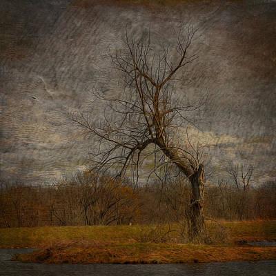 Spooky Digital Art - The Dark Wicked Tree by Bill Tiepelman