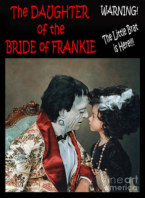 Photograph - The Daughter Of The Bride Of Frankie by Jim Fitzpatrick