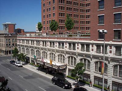 Photograph - The Davenport Hotel by Georgia Hamlin