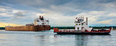 Sault Ste Marie Photograph - The David And Goliath Of The Lakes by Gales Of November