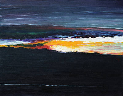 Painting - The Dawn Of Creation by Judith Chantler