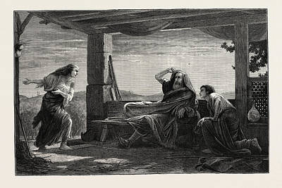 Jesus Christ Drawing - The Dawn Of The First Easter Sunday by English School