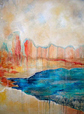 Terra Mixed Media - The Day After by Debi Starr