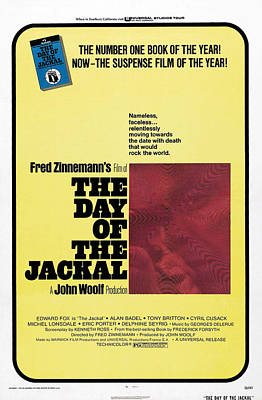 The Day Of The Jackal, Us Poster Art Print