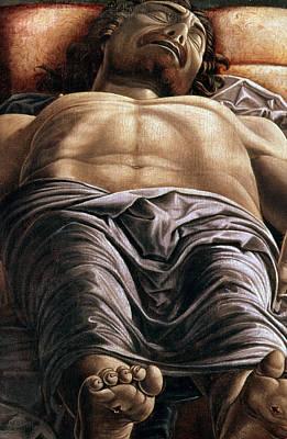The Dead Christ Art Print by Andrea Mantegna